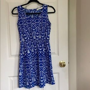 Costa Blanca pattern dress